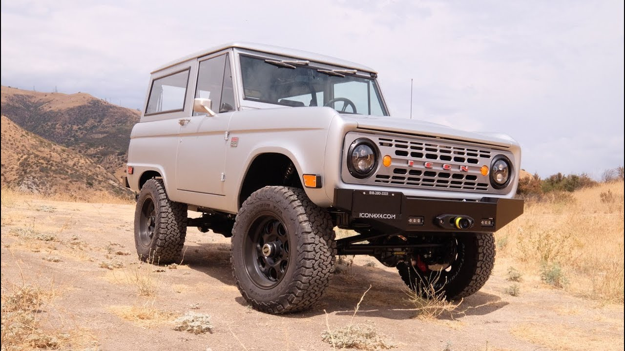 icon restored modified ford bronco 37 youtube. Black Bedroom Furniture Sets. Home Design Ideas