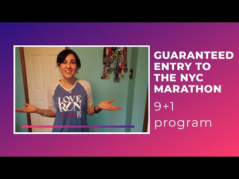 How to get a GUARANTEED ENTRY to the NYC MARATHON | 9+1 Program
