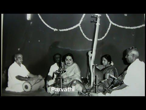 ML Vasanthakumari-Palinchu Kamakshi Pavani-Madhyamavathi-Adi-Shyama Shastri