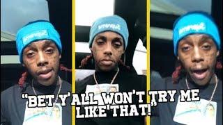 Famous Dex Not Worried After Rich The Kid Got Robbed!