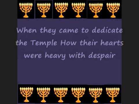 Eight Days of Chanukah with Lyrics Hanukkah Story
