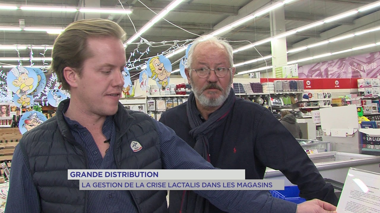 Grande distribution : la gestion de la crise Lactalis dans les magasins