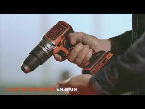 black+decker™ perceuse à percussion sans fil brushless - youtube