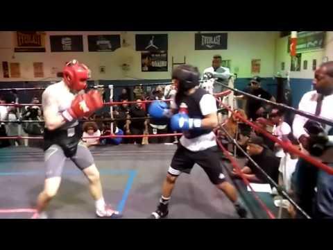 TANK GERVONTA DAVIS SPARS KANAN GROVE IN PREP For april 1 fight EsNews Boxing