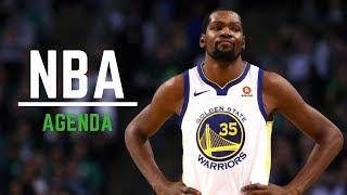 NBA Agenda || Warriors vs Celtics ||