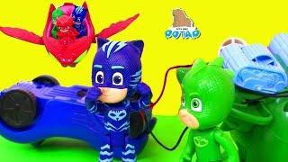 #Герои в масках PJ Masks Видео для детей #Пижама Маски! Игрушки с My Toys Potap
