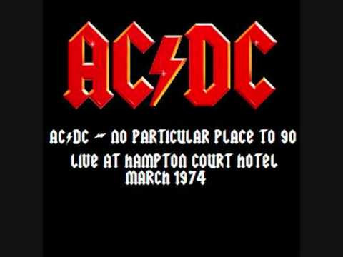 ACDC  No Particular Place To Go  At Hampton Court Hotel 1974