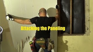 Removing 1960s Paneling in a 1915 House