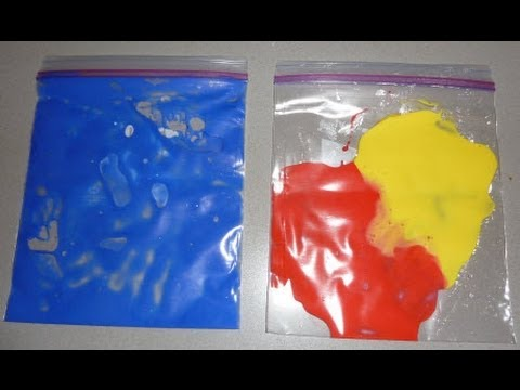 Color Mixing Experiments For Preschoolers : Activity Mixing Paint Colors Cullen s Abc s YouTube