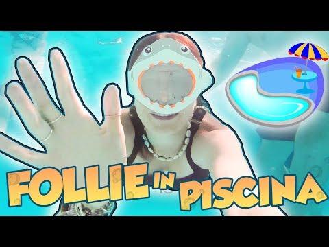 #6 Abbiamo fatto un CASINO in PISCINA! giochi e mimi sott'acqua!