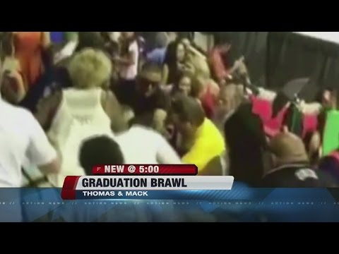 Fight at Las Vegas high school graduation ceremony