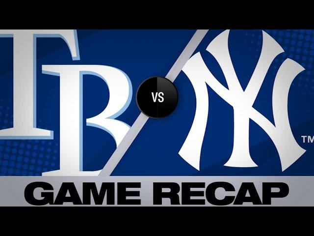 Yanks score 10 unanswered in 13-5 victory - 5/19/19