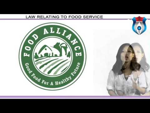 Law Relating to Food Service NEW
