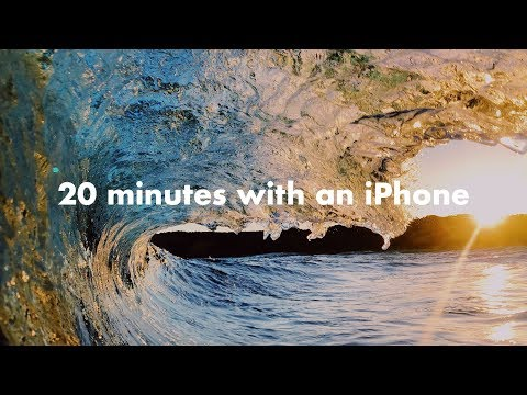 20 minutes with an iPhone in the Ocean!