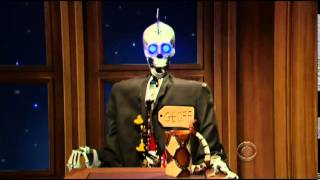 Funny Late Night Skit Craig Ferguson and Geoff Get Down with a Harmonica