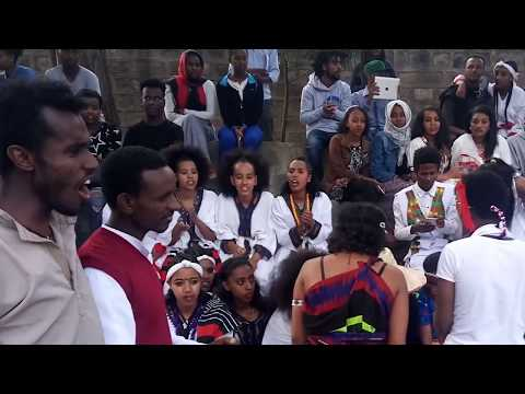 2K18 GC calture day in Addis Ababa University