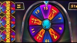 """MYSTERY REELS un """"Wheel Bonus"""" Gagné en début de partie avec cette machine à sous."""