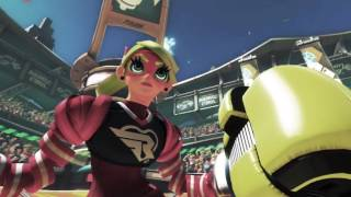 Nintendo Direct - The Mysterious Origin of ARMS Fighters