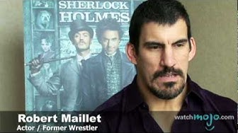 Robert Maillet from Guy Ritchie's Sherlock Holmes