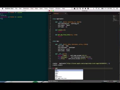 4 - Creating the Code Structure - Web Crawling with Python