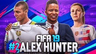 FIFA 19 | ALEX HUNTER #2 - WIELKI TRANSFER ALEXA!