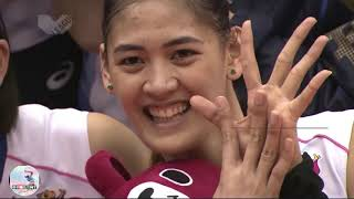 Jaja Santiago Japan V League 2018 2019 Elimination Round Highlights