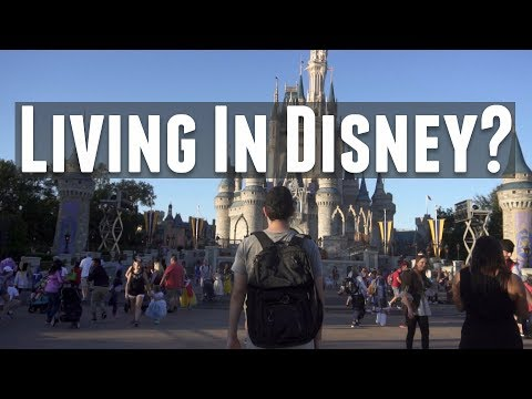 Is It Possible To Live In Walt Disney World For 1 Year?