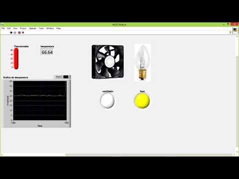 ITNL labview-arduino sensor LM35 y modulo de relevadores