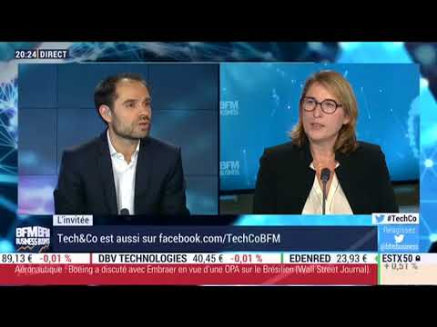 ITV Nathalie Duneau dans l'emission Tech & Co BFMTV Business