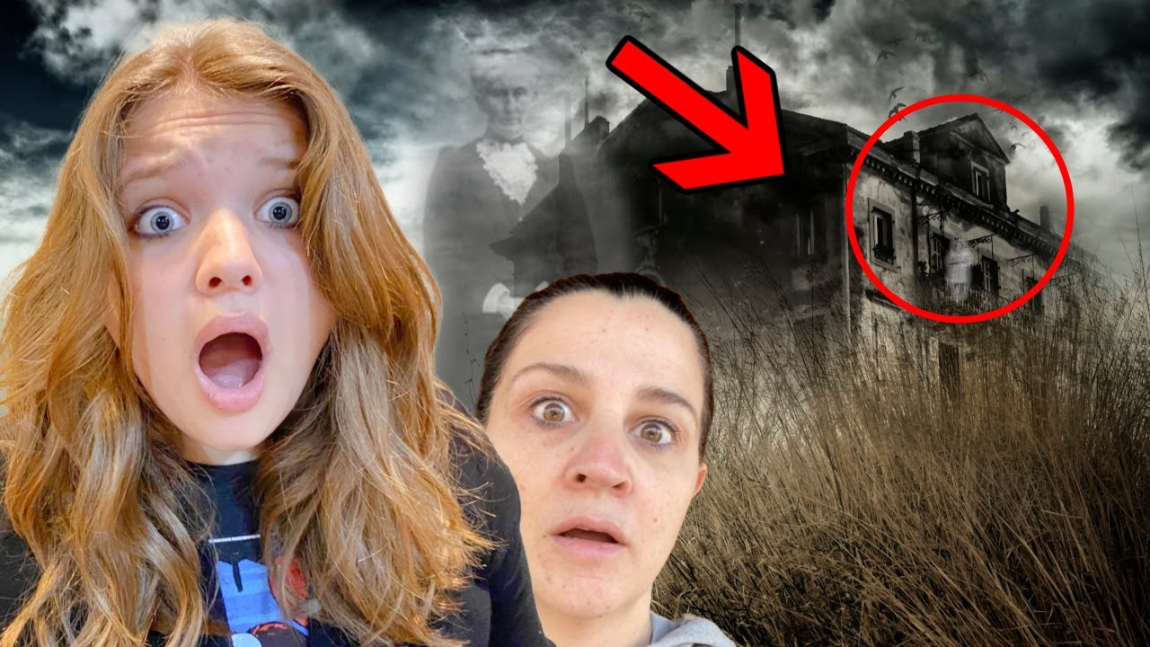 24 HOURS in a HAUNTED HOTEL! AUBREY & CALEB SEARCH for GHOSTS!