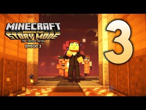 PINTU RAHSIA? (Minecraft Malaysia) - Minecraft Story Mode Season 2 | Episode 3 | Part 3