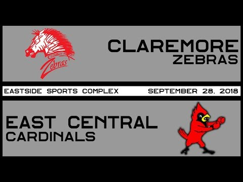 Football Claremore vs East Central