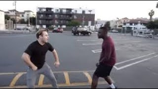 New crazy street fight compilation#5