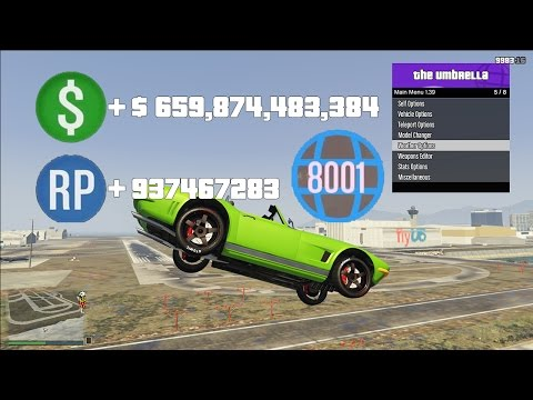 "GTA 5 Mod Menu ""Giving RP To Players"" PS3 Fun Lobby #1"