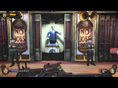 Lets Play -Bioshock Infinite Ep 11 - I'm So Excited