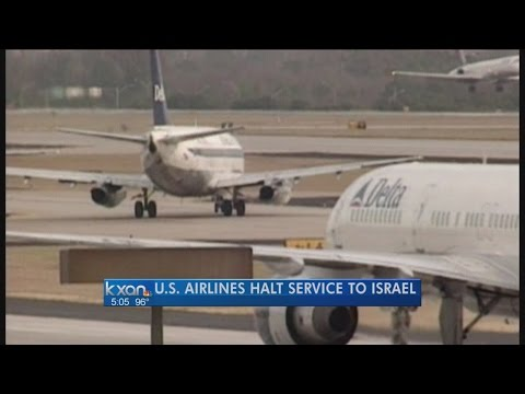 Airlines cancel Israel flights over missile fears