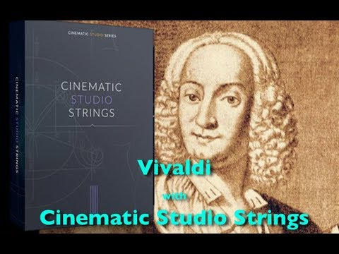 Vivaldi - Cinematic Studio Strings test