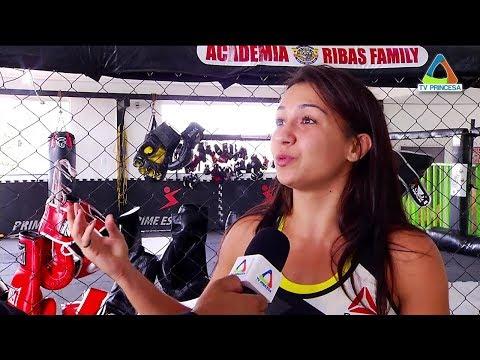 (JC 14/11/17) Amanda Ribas se prepara para a estreia no UFC, prevista para 2018