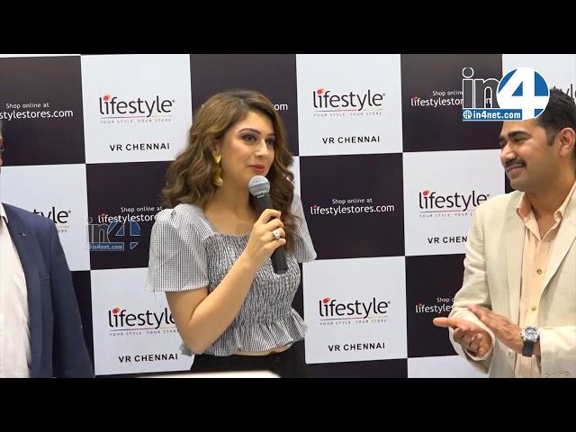 Hansika Motwani Launches Lifestyle New Store @ VR Mall Chennai
