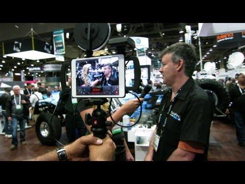 NAB Vegas - GoPro Hero 3 - Technology Blog - On Camera Apple iPad Mini Interview.
