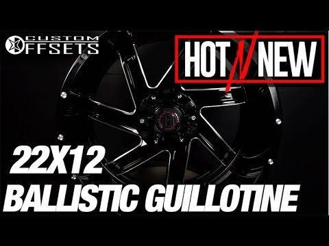 Hot n New ep.129: Ballistic Guillotine 22x12 -44