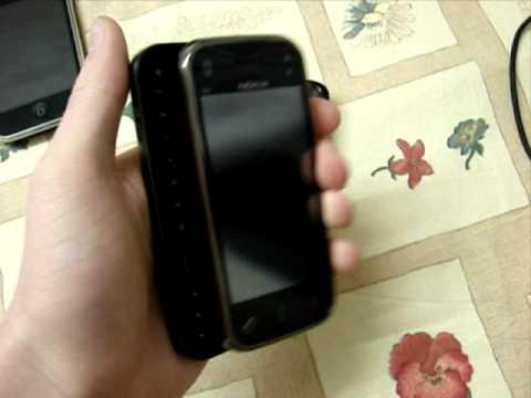 Nokia N97 mini vs 5800 boot time