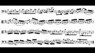 Bach - Cello Suite No.6 in D, BWV 1012 (Nikolaus Harnoncourt, cello)