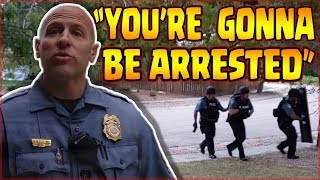 TYRANT ALERT --- I'm Going To Arrest You!!! --- CSPD