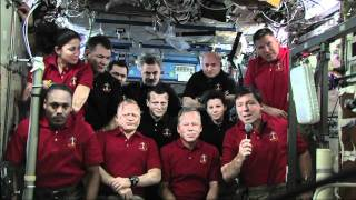 Astronomy Now interviews the ISS