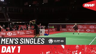 HSBC BWF World Tour Finals | Day 1: Anders Antonsen (DEN) [2] vs. Kidambi Srikanth (IND)