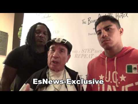 Jessie Vargas Full Interview on manny pacquiao kell brook GGG speed power EsNews Boxing