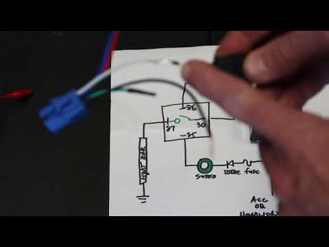 wiring led light bar part 1 relay and switch gmc colorado