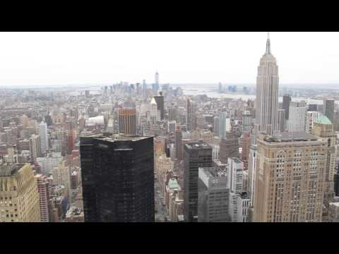 View From MetLife Building Roof, Manhattan, NYC
