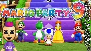 Mario Party 9 Lets Play - Ep.10 Yay For Me | Minigames | Step It Up